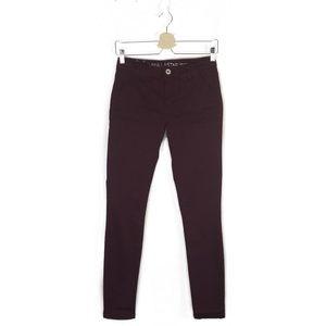 Vanilla Star | Burgundy skinny pants